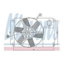 Genuine Nissens Engine Cooling Radiator Fan - 85020