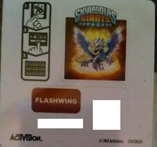 Flashwing Skylanders Giants Sticker/Code Only!