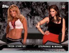 2016 WWE Divas Revolution Rivalries #2 Trish Stratus Stephanie McMaon