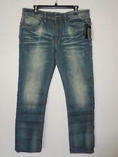 Buffalo David Bitton Mens Jeans EVAN-X Slim Stretch Distressed Size 36x32 NWT