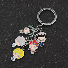 Hunter X Hunter Keychain Anime Keyring Pendant Killua Gon Freecss Accessories
