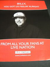 Billy Joel You Got Us Feelin' Alright 2009 Promo Display Ad in mint condition