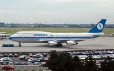 Inflight 200 IF743SN1018 1/200 SABENA BOEING 747-300 OO-SGD avec support