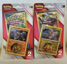 Pokemon TCG Dragonite/Machamp blister packs pokemon cards