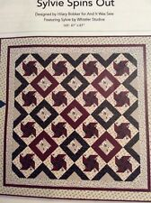 """Sylvie Spins Out Quilt Kit By Hilary Booker (61"""" Square)"""