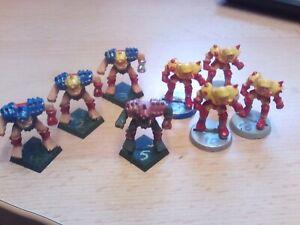 Games workshop warhammer blood bowl star player 8 humans norse dwarf ork chaos
