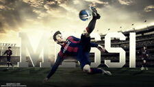 """153 Lionel Messi - Barcelona Football Soccer Top Player 24""""x14"""" Poster"""