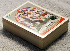 NFL Fleer '90 Football Card Lot - 49 Cards - All Different - Very Nice Condition