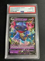 Pokemon Rebel Clash #092 Dragapult V  PSA 10