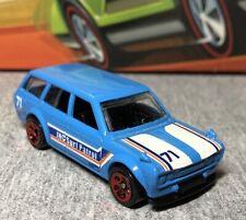 New ListingHot Wheels - '71 Datsun 510 Wagon - Light Blue Surf Patrol - Nice!