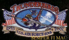 2007 THUNDERBIRDS HAT PATCH F-16 NELLIS AFB US AIR FORCE AIRSHOW PILOT CREW WING