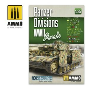 Ammo by Mig Panzer Divisions WWII. Decals 1/35