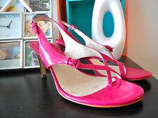 Michael Kors Eleni Thong Open Toe Pink Dress Sandals