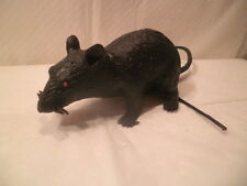 "Fake Vinyl Rat 5.5"" Body 11"" Tail 1 Halloween PrpPrank Gag"