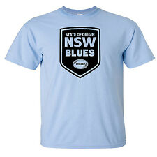 NSW Blues NRL State of Origin League footy shirt - Sizes S-XL Various Colours