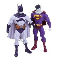 DC UNIVERSE - SET 2 FIGURAS / EVIL BATMAN & EVIL SUPERMAN / 2 FIGURES SET 18cm