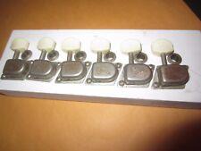 Vintage Original 1960's Fender Mustang Tuners Tuning Machines w/ Grommets Nice!