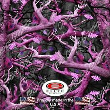 "Obliteration Pink CAMO DECAL 3M WRAP VINYL 52""x15"" TRUCK PRINT REAL CAMOUFLAGE"