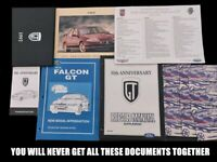 EL GT FORD FACTORY OWNERS MANUAL AND BROCHURES AND TECHNICIAN BOOKS ORIGINAL