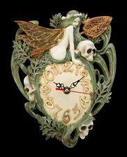 Alchemy The Vault - Horloge murale Artemisia absinthum - Fée TETE MORT