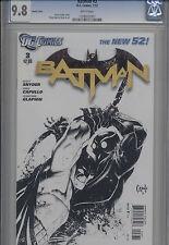 BATMAN #3 SKETCH COVER - THE NEW 52 1:200 MINT 9.8 HI GRADE 2007