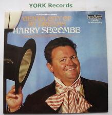 HARRY SECOMBE - Vienna City Of My Dreams - Ex Con LP Record Contour 6870 554