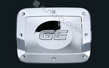 Chrome Gas Fuel Filler Door Cap Cover for 07-11 Chevrolet Aveo 4DR w/Tracking