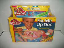 1991 Vintage Play-Doh Fix Me Up Doc Set, Factory Sealed, Playskool