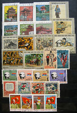 Lot of different Vietnam stamps