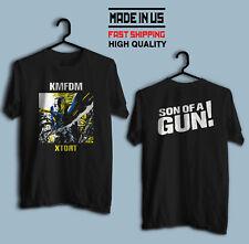KMFDM XTORT NEW BLACK T SHIRT reprint, 100% Cotton High Quality, Size S to 4XL