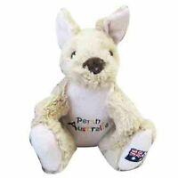 G'DAY KANGAROO W/PERTH EMBROIDERY STUFFED ANIMAL PLUSH TOY 20cm *FREE DELIVERY*