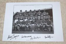 MANCHESTER UNITED 1968 Hand Signed Autographed A3 Photo Print + COA EXACT PROOF