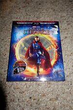 Doctor Strange (Blu-ray/DVD, 2017, 3-Disc Set, 2D/3D) Marvel Dr