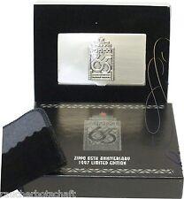 Zippo 65th card-case ASTUCCIO PER BIGLIETTI DA VISITA LIMITATA Edition AUS 1997