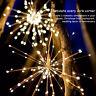 150 LED Firework String Lights Fairy Lights Wedding Xmas Party Outdoor Decor
