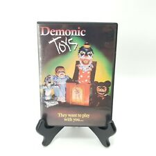 Demonic Toys (DVD, 1991) Jack Attack Grizzly Teddy Baby Oopsie Daisy Horror