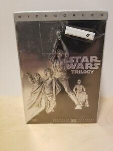 Star Wars Trilogy (DVD, 2004, 4-Disc Set, Widescreen Edition)