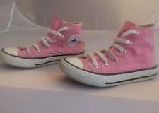 Converse Allstar size 13 girls bubblegum pink hi tops
