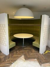 More details for brown & carroll round circular booth seating private dinning pods vip area