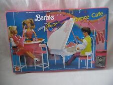 1990 Barbie and the Beat Dance Cafe Playset Complete with Box