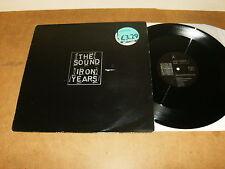"THE SOUND : IRON YEARS - BELGIUM 12"" Vinyl 1987 - PLAY IT AGAIN SAM BIAS 49"