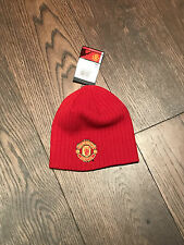 Manchester United FC Adults Wool Beanie Hat - Official Item - EPL - SOCCER