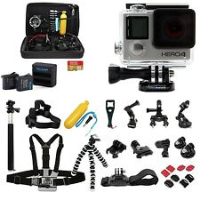 GoPro HERO4 Silver + 32gb + 2 Extra Batteries ALL you NEED in A PRO KIT!!