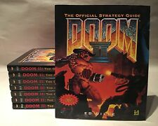Doom II Official Strategy Guide Retro PC Gaming Ed Dille 1994 Lot Of 8 Paperback