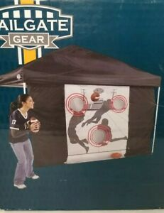 Tailgate Gear Football Toss Party Game Quarterback Touchdown 3 in 1 Canopy Hole