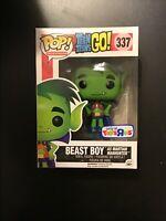 Funko POP! Teen Titans Figure -BEAST BOY as Martian Manhunter #337 TRU Exclusive