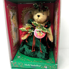 Muffy Vanderbear Couture Muffy Jingle Belle Holly Christmas Bear NEW