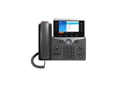 Cisco - CP-8851-3PCC-K9= - Cisco 8851 IP Phone - Wired/Wireless - Bluetooth - De