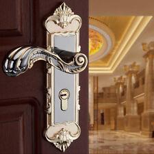 Indoor Mechanical Door Lock Set Bedroom Solid Wood Door Lock Hardware US STOCK