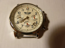 NEW PILOT Watch Russia 31679 Chronograph Poljot Mechanical Military Aviator #2